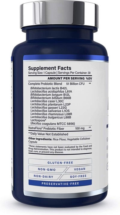 1md complete probiotics platinum ingredients